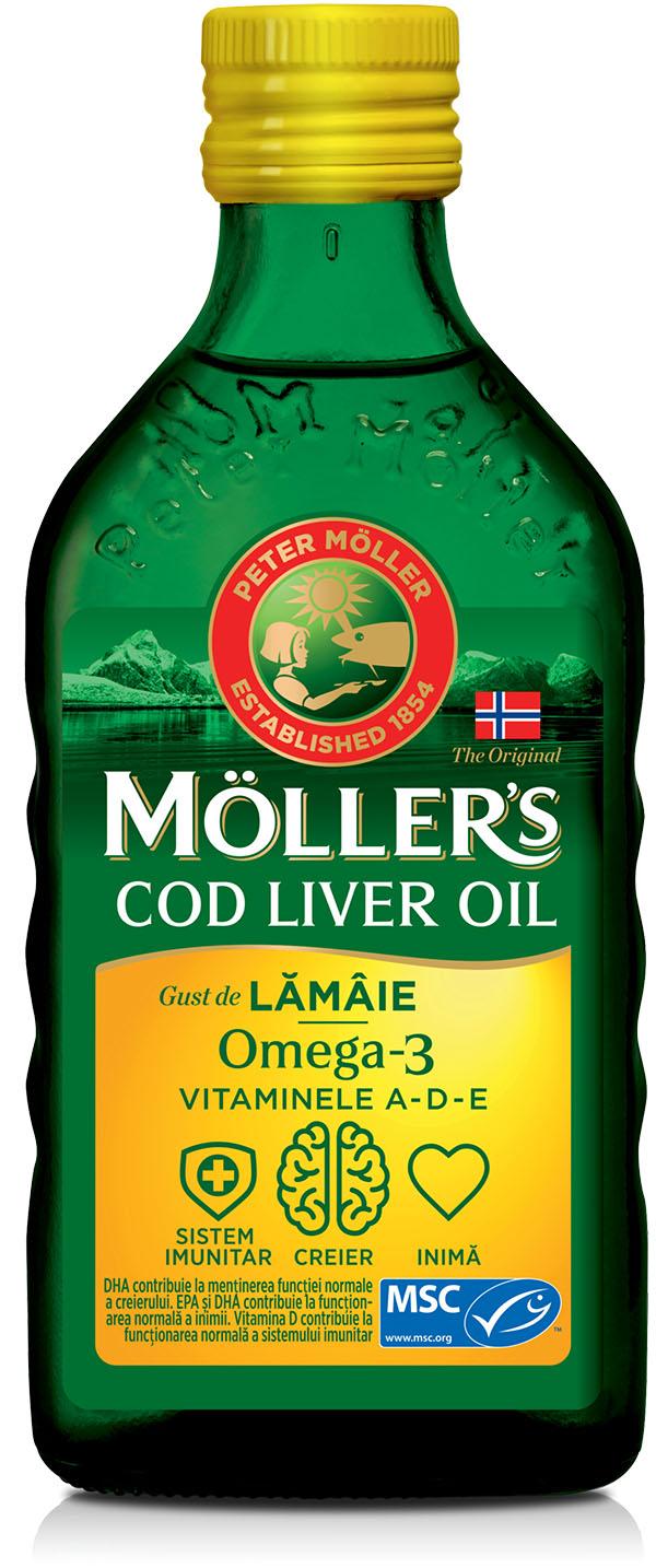 Mollers Omega 3 limon
