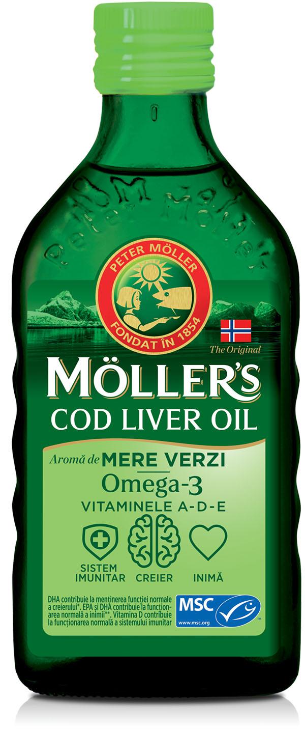 Mollers Omega 3 Zeleno jabolko